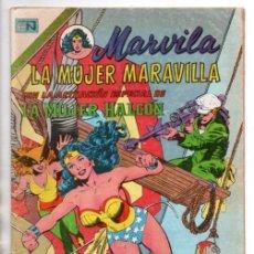 Tebeos: MARVILA # 3-250 NOVARO 1981 WONDER WOMAN MOULTON MUJER HALCON JACK HARRIS DELBO GIELLA MUY BUEN ESTA. Lote 164570122