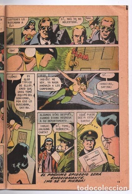 Tebeos: MARVILA # 3-250 NOVARO 1981 WONDER WOMAN MOULTON MUJER HALCON JACK HARRIS DELBO GIELLA MUY BUEN ESTA - Foto 4 - 164570122