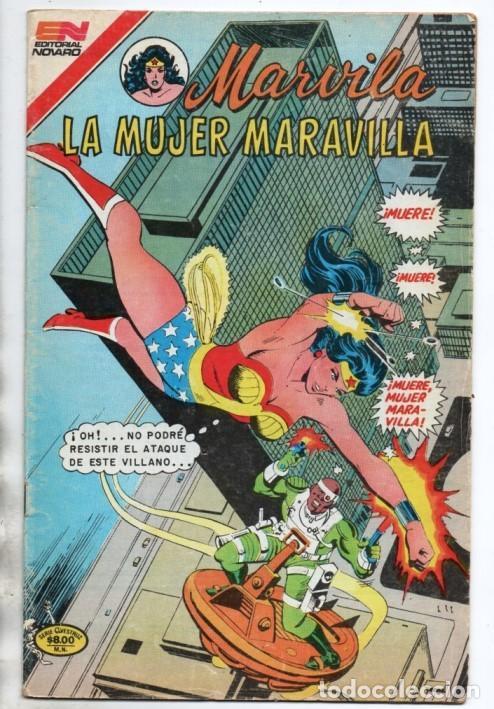 MARVILA # 3-256 NOVARO 1981 WONDER WOMAN MOULTON LEVITZ DELBO COLLETTA SERPIENTE VENENOSA (Tebeos y Comics - Novaro - Sci-Fi)