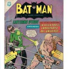 Tebeos: BATMAN - EL HOMBRE MURCIÉLAGO, AÑO XIII, Nº 332, 21 DE JULIO DE 1966 * NOVARO - MÉXICO *. Lote 164684578