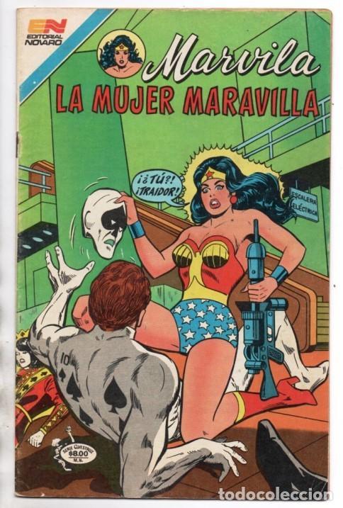 Tebeos: MARVILA # 3-257 NOVARO 1981 WONDER WOMAN MOULTON 1ER APARICION DE PODEROSA LEVITZ STATON & ORLANDO - Foto 2 - 164643794