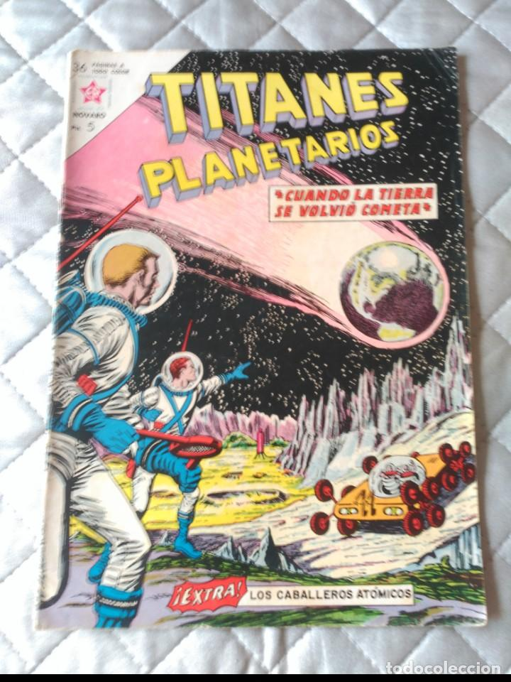 TITANES PLANETARIOS Nº 170 NOVARO (Tebeos y Comics - Novaro - Sci-Fi)
