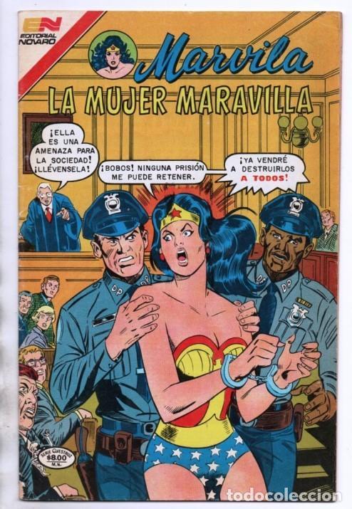 MARVILA # 3-261 NOVARO 1981 WONDER WOMAN MOULTON COLLETTA DELBO GERRY CONWAY EL DIOS MARTE (Tebeos y Comics - Novaro - Sci-Fi)