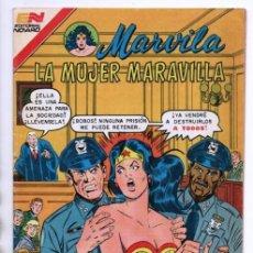Tebeos: MARVILA # 3-261 NOVARO 1981 WONDER WOMAN MOULTON COLLETTA DELBO GERRY CONWAY EL DIOS MARTE. Lote 164769874