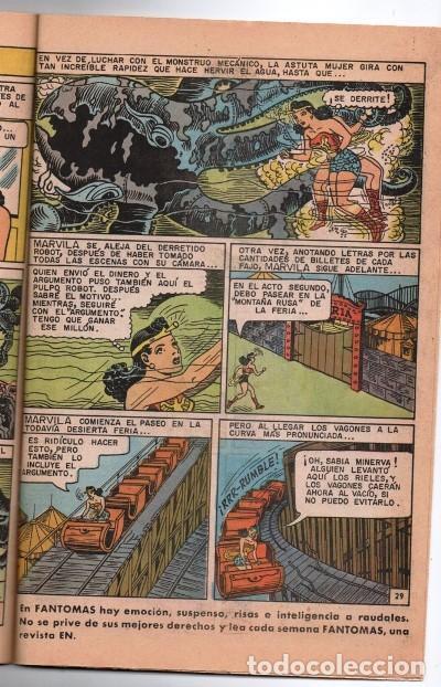 Tebeos: MARVILA # 3-261 NOVARO 1981 WONDER WOMAN MOULTON COLLETTA DELBO GERRY CONWAY EL DIOS MARTE - Foto 6 - 164769874