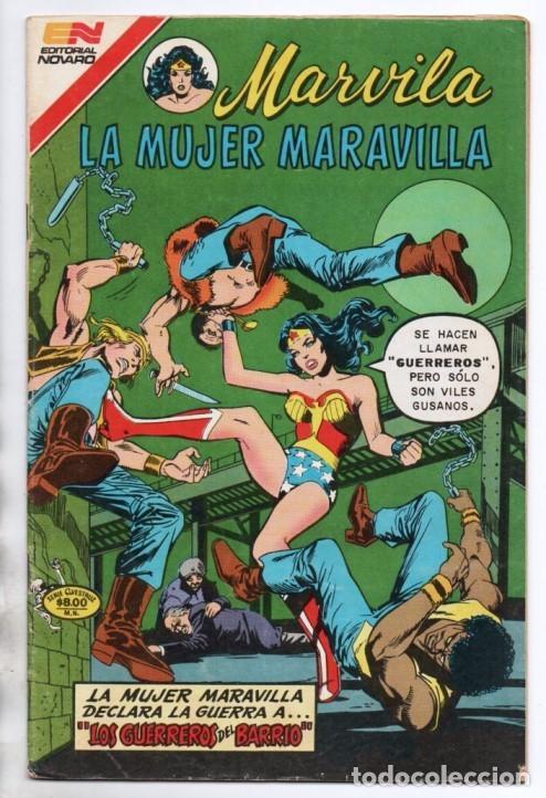 Tebeos: MARVILA # 3-263 NOVARO 1981 WONDER WOMAN MOULTON EL CIRCO DE PULGAS AMAESTRADAS EXCELENTE CONWAY - Foto 2 - 164770186