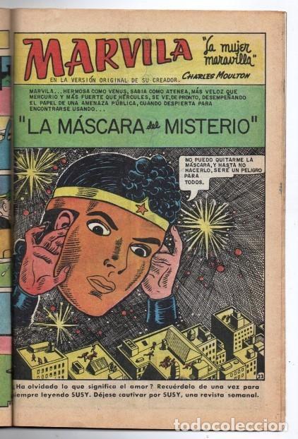 MARVILA # 3-265 NOVARO 1981 WONDER WOMAN MOULTON LA MASCARA DEL MISTERIO EXCELENTE CONWAY (Tebeos y Comics - Novaro - Sci-Fi)