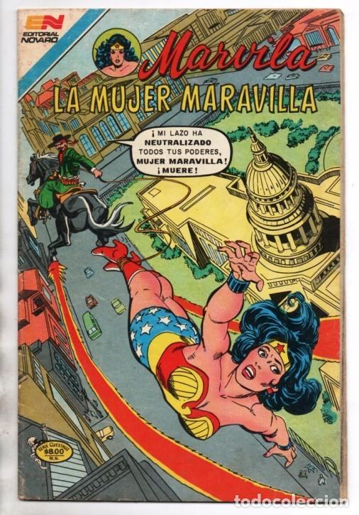 Tebeos: MARVILA # 3-265 NOVARO 1981 WONDER WOMAN MOULTON LA MASCARA DEL MISTERIO EXCELENTE CONWAY - Foto 2 - 164770418