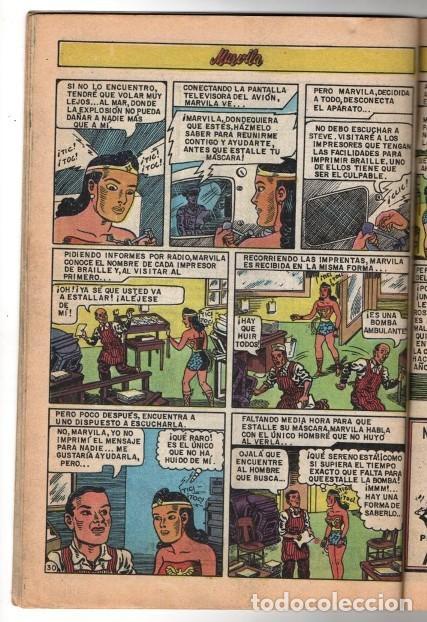 Tebeos: MARVILA # 3-265 NOVARO 1981 WONDER WOMAN MOULTON LA MASCARA DEL MISTERIO EXCELENTE CONWAY - Foto 6 - 164770418