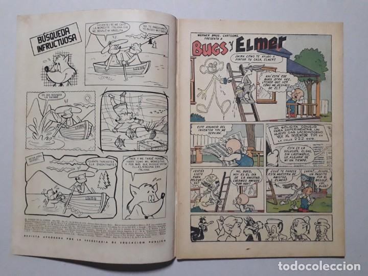 Tebeos: El conejo de la suerte n° 95 - original editorial Novaro - Foto 2 - 164796838
