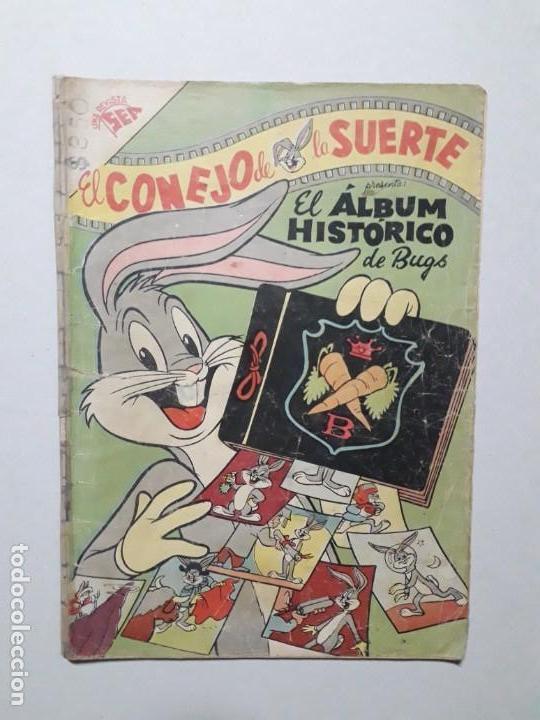 EL CONEJO DE LA SUERTE N° 98 - ORIGINAL EDITORIAL NOVARO (Tebeos y Comics - Novaro - El Conejo de la Suerte)