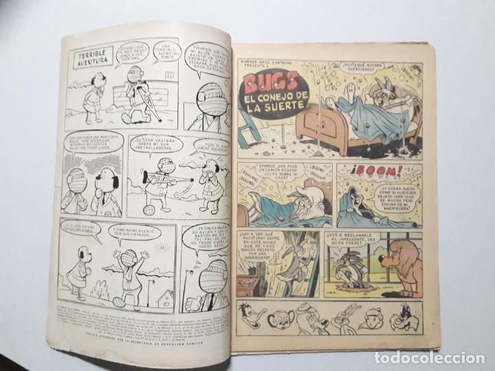 Tebeos: El conejo de la suerte n° 104 - original editorial Novaro - Foto 2 - 164797766