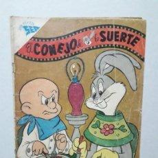 Tebeos: EL CONEJO DE LA SUERTE N° 104 - ORIGINAL EDITORIAL NOVARO. Lote 164797766