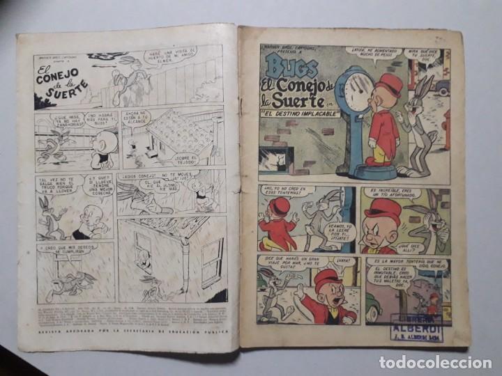 Tebeos: El conejo de la suerte n° 91 - original editorial Novaro - Foto 2 - 164798030