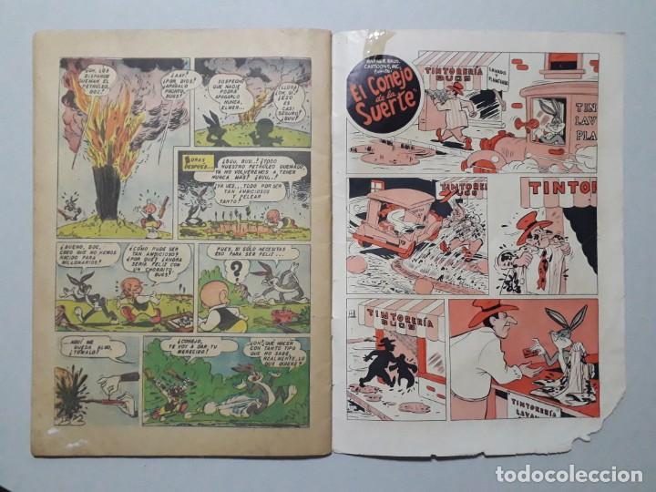 Tebeos: El conejo de la suerte n° 28 (1952) - original editorial Novaro - Foto 3 - 164798386