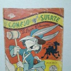 Tebeos: EL CONEJO DE LA SUERTE N° 29 (1952) - ORIGINAL EDITORIAL NOVARO. Lote 164798658