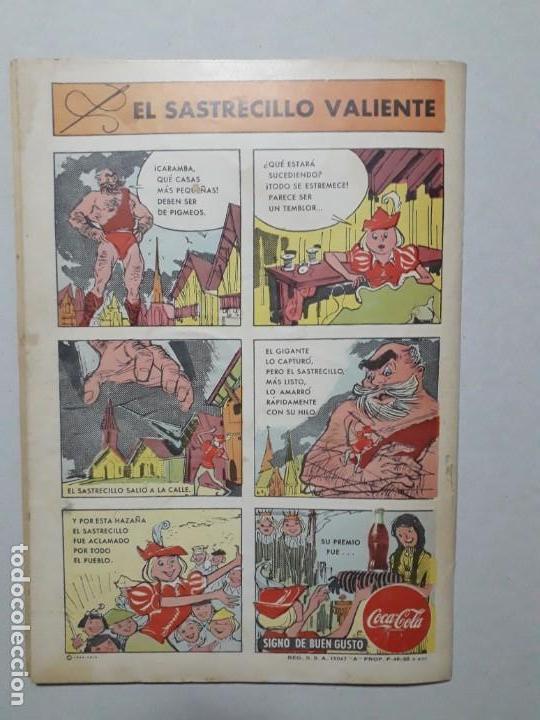 Tebeos: El conejo de la suerte n° 95 - original editorial Novaro - Foto 4 - 164799106