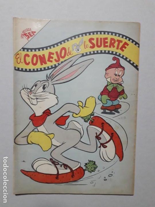 EL CONEJO DE LA SUERTE N° 95 - ORIGINAL EDITORIAL NOVARO (Tebeos y Comics - Novaro - El Conejo de la Suerte)