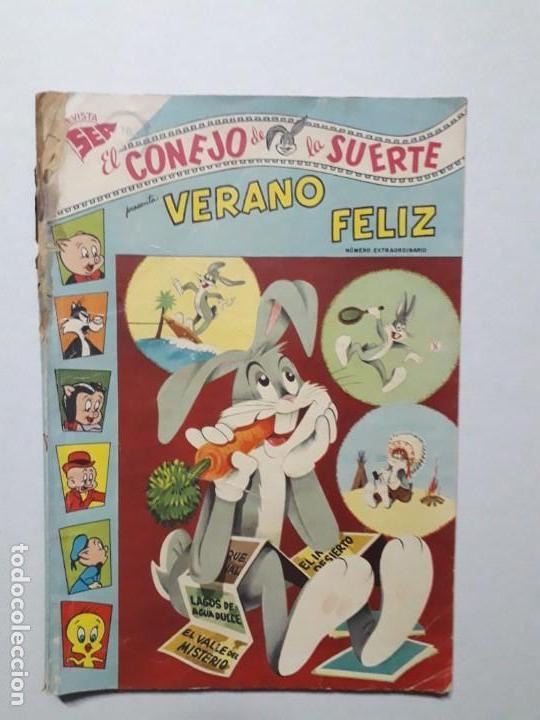 EL CONEJO DE LA SUERTE N° EXTRAORDINARIO - ORIGINAL EDITORIAL NOVARO (Tebeos y Comics - Novaro - El Conejo de la Suerte)