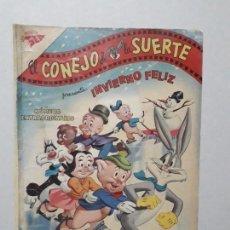 Tebeos: EL CONEJO DE LA SUERTE N° EXTRAORDINARIO (1961) - ORIGINAL EDITORIAL NOVARO. Lote 164800438