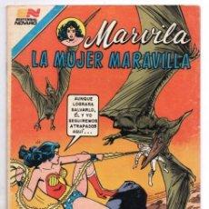 Tebeos: MARVILA # 3-266 NOVARO 1981 WONDER WOMAN TIERRA DOS CAZADORA HIJA DE BATMAN LEVITZ STATON CONWAY EXC. Lote 164874806