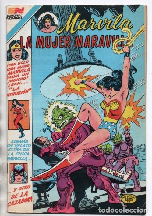MARVILA # 3-267 NOVARO 1981 WONDER WOMAN TIERRA DOS CAZADORA HIJA DE BATMAN LEVITZ STATON CONWAY EXC (Tebeos y Comics - Novaro - Sci-Fi)