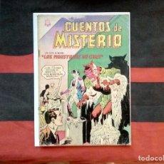 Tebeos: CUENTOS DE MISTERIO NOVARO NÚMERO 48 AÑO 1964 LOS MONSTRUOS DE CERA. Lote 178130937