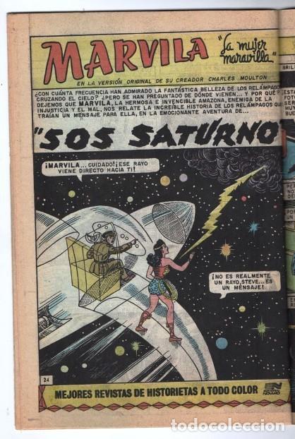 MARVILA # 3-271 NOVARO 1982 WONDER WOMAN MOULTON RENACIMIENTO STEVE TREVOR EXCELENTE CONWAY VINCE (Tebeos y Comics - Novaro - Sci-Fi)
