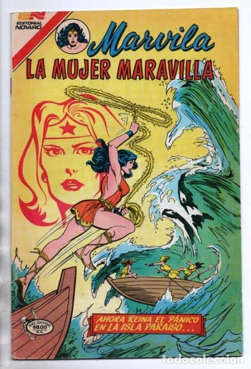 Tebeos: MARVILA # 3-271 NOVARO 1982 WONDER WOMAN MOULTON RENACIMIENTO STEVE TREVOR EXCELENTE CONWAY VINCE - Foto 2 - 164978942