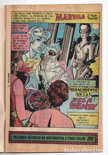 Tebeos: MARVILA # 3-271 NOVARO 1982 WONDER WOMAN MOULTON RENACIMIENTO STEVE TREVOR EXCELENTE CONWAY VINCE - Foto 5 - 164978942