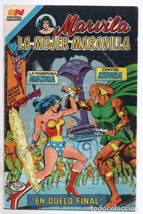 MARVILA # 3-279 NOVARO 1982 WONDER WOMAN TIERRA DOS CAZADORA KOBRA LEVITZ GIELLA CONWAY STATON DELBO (Tebeos y Comics - Novaro - Sci-Fi)