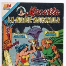 Tebeos: MARVILA # 3-279 NOVARO 1982 WONDER WOMAN TIERRA DOS CAZADORA KOBRA LEVITZ GIELLA CONWAY STATON DELBO. Lote 164987578