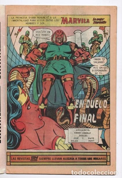 Tebeos: MARVILA # 3-279 NOVARO 1982 WONDER WOMAN TIERRA DOS CAZADORA KOBRA LEVITZ GIELLA CONWAY STATON DELBO - Foto 2 - 164987578