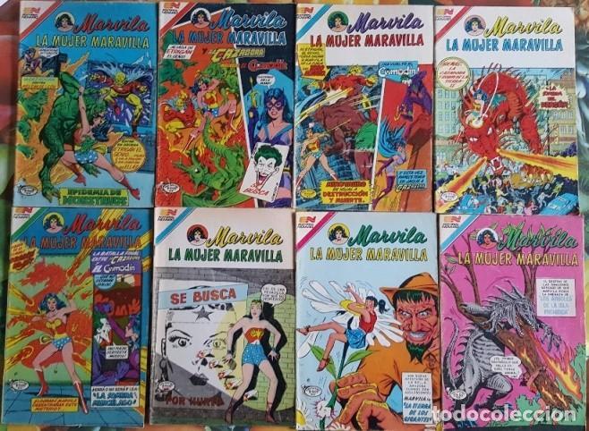Tebeos: MARVILA # 3-279 NOVARO 1982 WONDER WOMAN TIERRA DOS CAZADORA KOBRA LEVITZ GIELLA CONWAY STATON DELBO - Foto 6 - 164987578