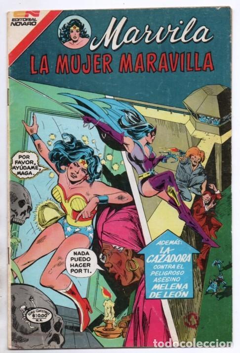 MARVILA # 3-280 NOVARO 1982 WONDER WOMAN TIERRA DOS CAZADORA LEVITZ GIELLA CONWAY STATON DELBO MUY B (Tebeos y Comics - Novaro - Sci-Fi)
