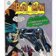 Tebeos: BATMAN - EL HOMBRE MURCIÉLAGO, AÑO XIII, Nº 303, 30 DE DICIEMBRE 1965 * NOVARO - MÉXICO *. Lote 165010922