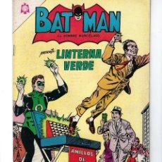 Tebeos: BATMAN - EL HOMBRE MURCIÉLAGO, AÑO XIII, Nº 283, 12 DE AGOSTO DE 1965 * NOVARO - MÉXICO *. Lote 165014022