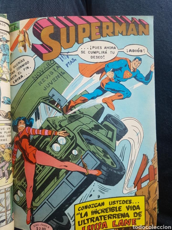 Tebeos: COMICS SUPERMAN SERIE AGUILA - NOVARO- AÑOS 70 - MEXICO - Foto 2 - 165018486