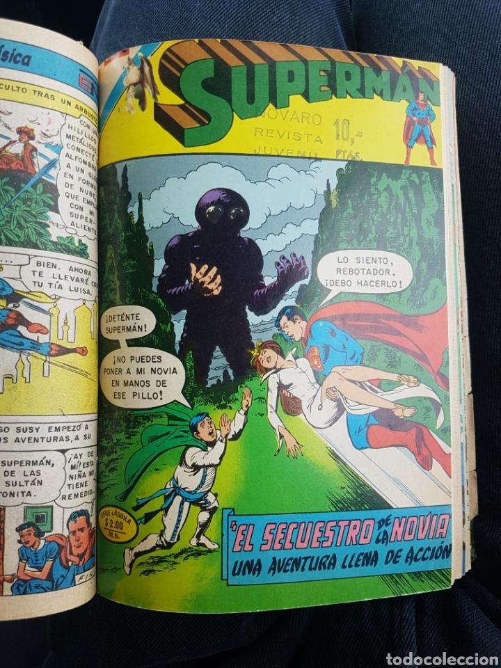 Tebeos: COMICS SUPERMAN SERIE AGUILA - NOVARO- AÑOS 70 - MEXICO - Foto 3 - 165018486