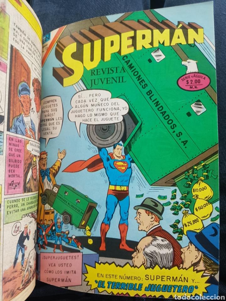 Tebeos: COMICS SUPERMAN SERIE AGUILA - NOVARO- AÑOS 70 - MEXICO - Foto 5 - 165018486