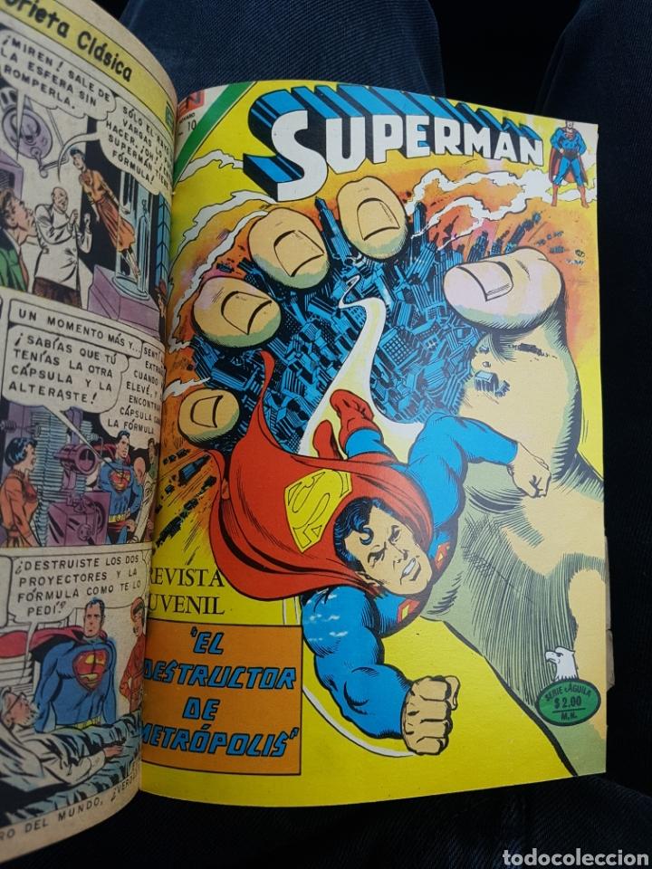 Tebeos: COMICS SUPERMAN SERIE AGUILA - NOVARO- AÑOS 70 - MEXICO - Foto 8 - 165018486