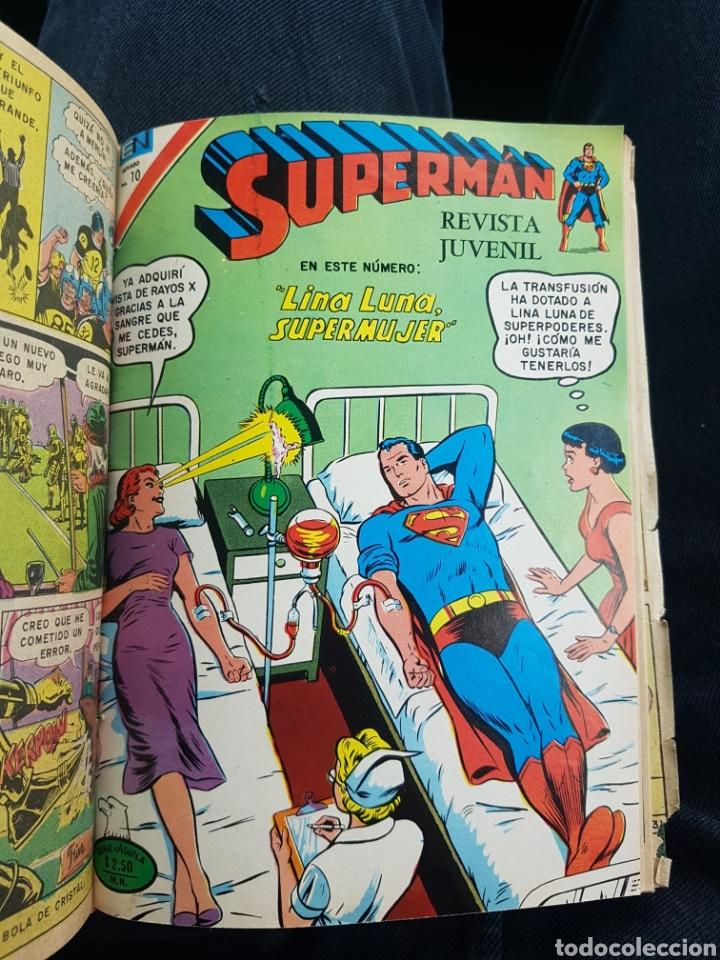 Tebeos: COMICS SUPERMAN SERIE AGUILA - NOVARO- AÑOS 70 - MEXICO - Foto 9 - 165018486