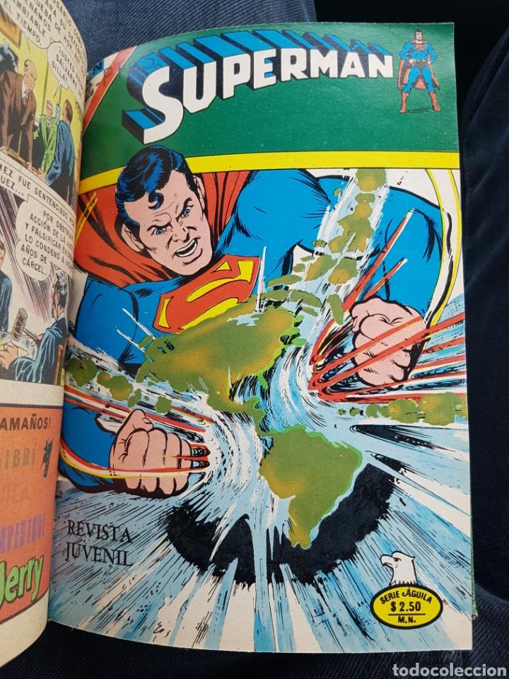 Tebeos: COMICS SUPERMAN SERIE AGUILA - NOVARO- AÑOS 70 - MEXICO - Foto 13 - 165018486