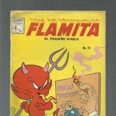 Tebeos: FLAMITA, EL PEQUEÑO DISBLO 24, 1961, LA PRENSA, BUEN ESTADO. COLECCIÓN A.T.. Lote 165021786