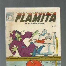 Tebeos: FLAMITA, EL PEQUEÑO DIABLO 15, 1960, LA PRENSA. COLECCIÓN A.T.. Lote 165022254