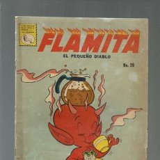 Tebeos: FLAMITA, EL PEQUEÑO DIABLO 28, 1961, LA PRENSA, USADO.COLECCIÓN A.T.. Lote 165022954