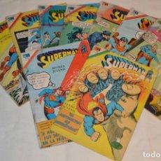 Tebeos: LOTE 09 EJEMPLARES DE LA REVISTA JUVENIL SUPERMAN - NOVARO - SERIE AGUILA - AÑOS 70 ¡MIRA! - LOTE 03. Lote 165119326