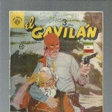 Tebeos: EL GAVILÁN 24, 1962, EDITORA SOL, BUEN ESTADO. COLECCIÓN A.T.. Lote 165180746