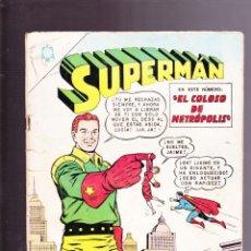 Tebeos: SUPERMAN NOVARO NÚMERO 491 AÑO 1965. DIFÍCIL.. Lote 165253354