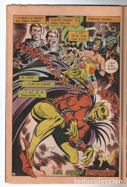 MARVILA # 3-281 NOVARO 1982 WONDER WOMAN TIERRA DOS CAZADORA LEVITZ GIELLA CONWAY STATON DELBO MUY B (Tebeos y Comics - Novaro - Sci-Fi)